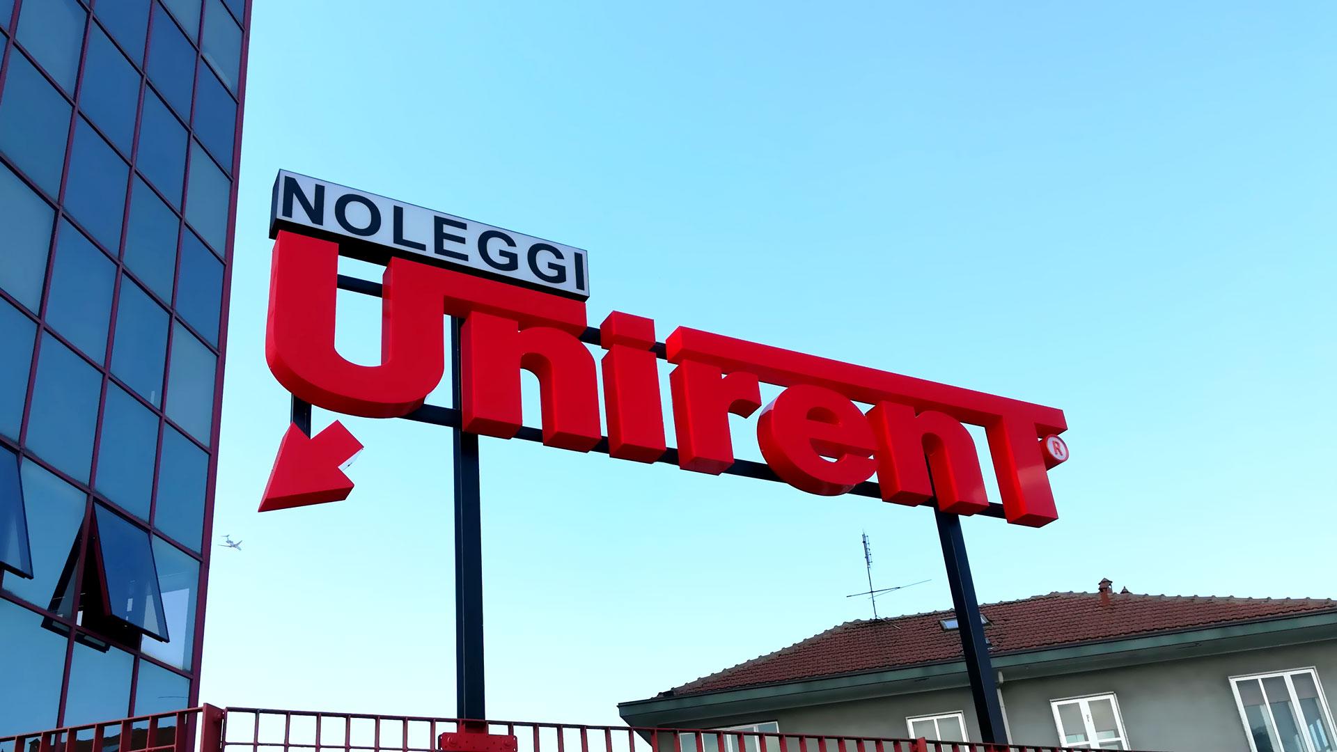 Unirent noleggio furgoni Torino via sansovino 217