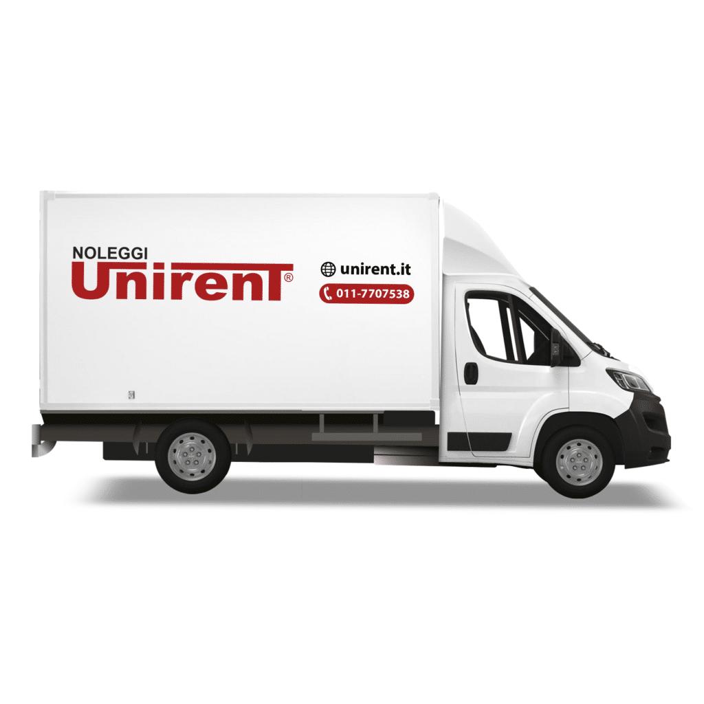 Noleggio furgone boxato a Torino