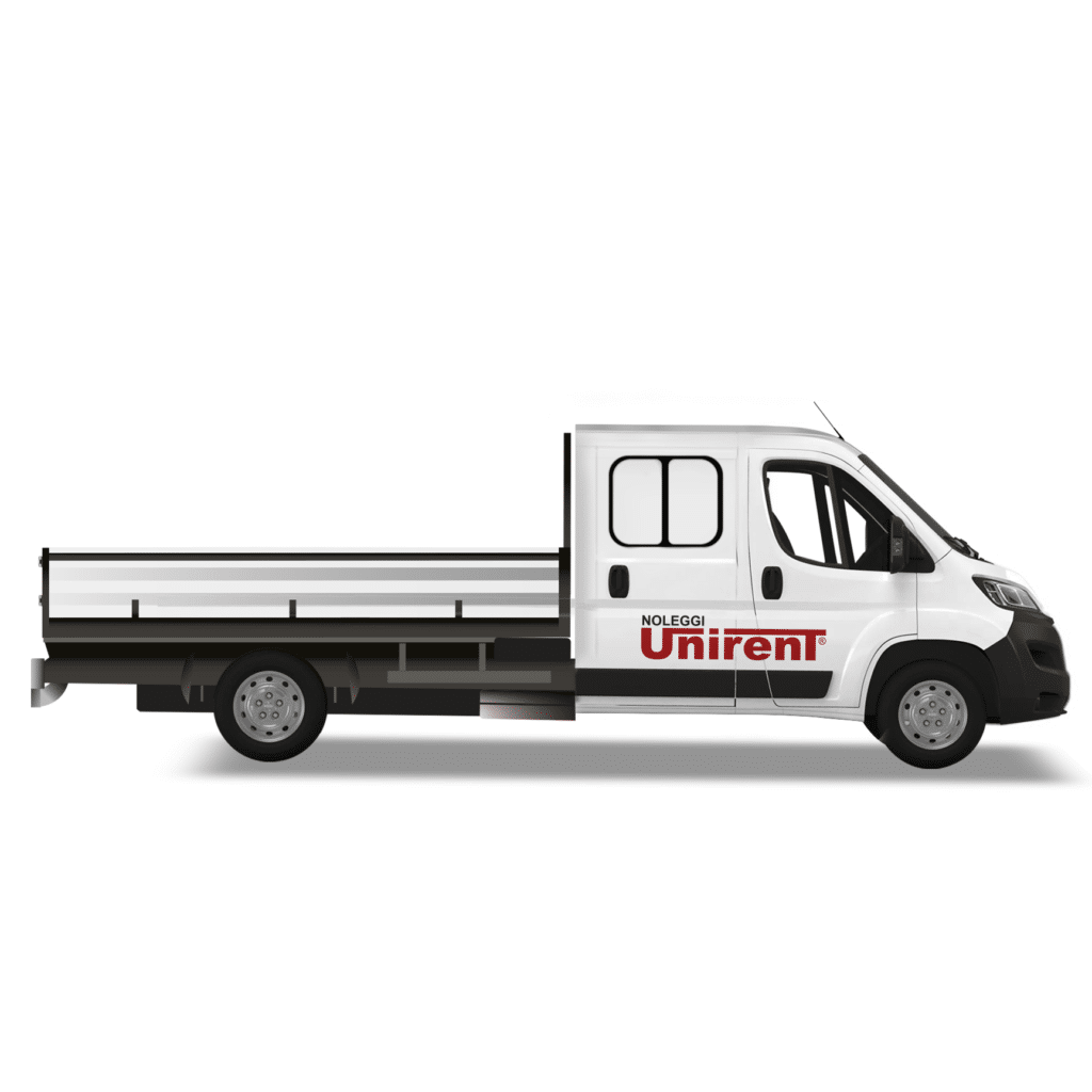 Noleggio furgone cassonato doppia cabina Torino