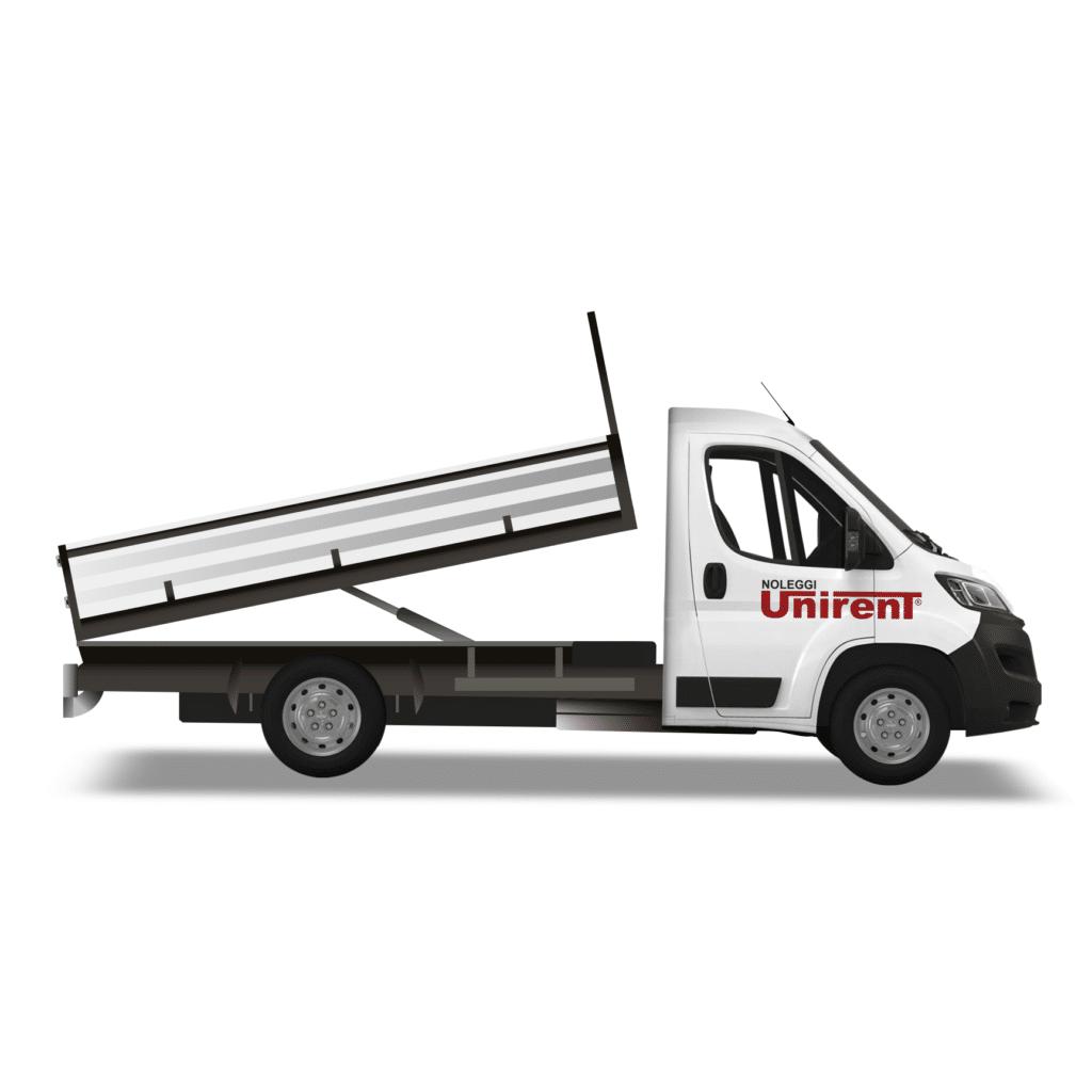 noleggio furgone ribaltabile torino