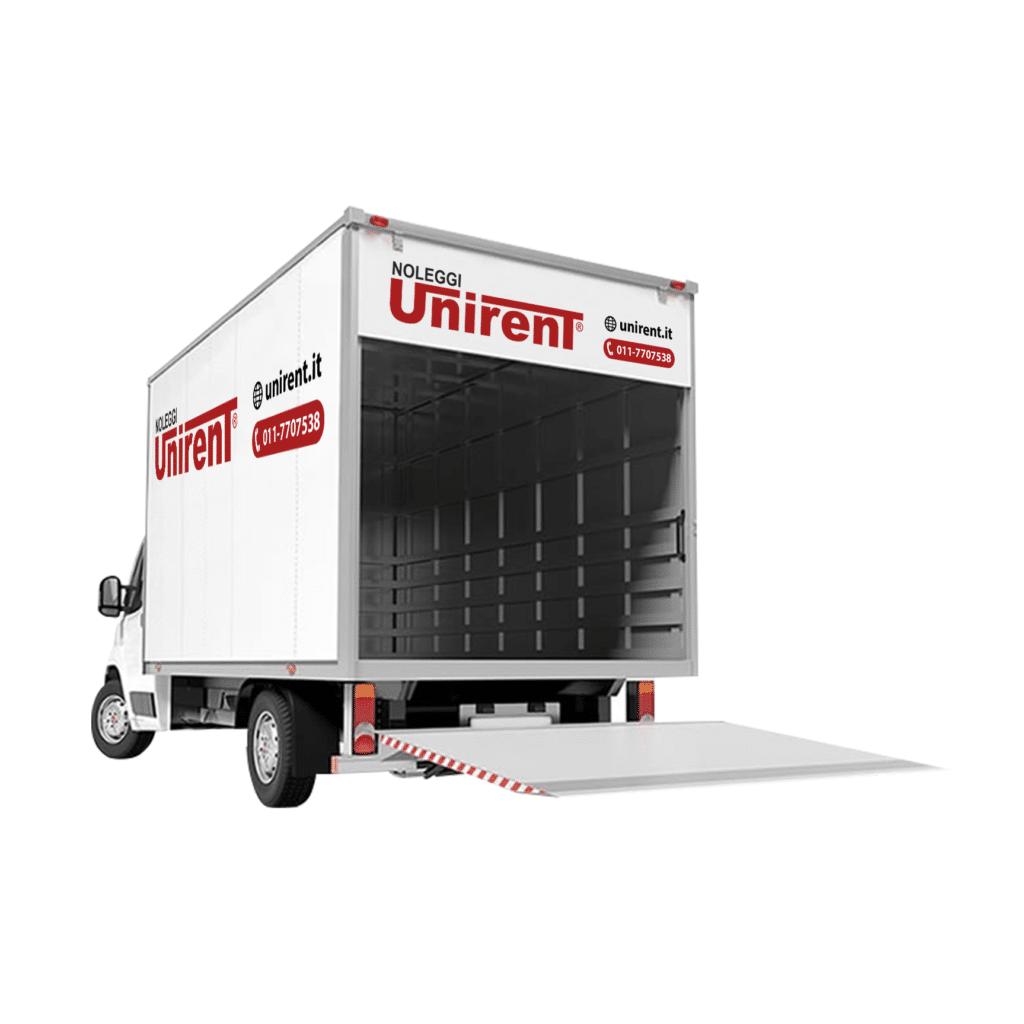noleggio furgone con pedana